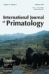Cover International Journal of Primatology