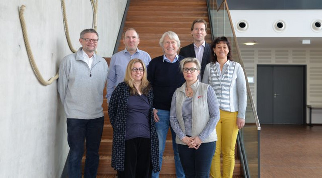 The members of the DPZ Scientific Advisory Board and the Management of the German Primate Center in March 2019. Photo: Sylvia Siersleben