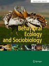 Cover Behavioral Ecology and Sociobiology
