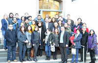 The participants of the meeting with the Colombian Ambassador on 20 January 2017. Photo: Romas Bielke