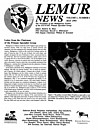 Cover Lemur News 1